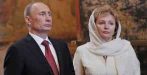 Putin+wife