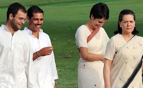 Son-in-Law is Very Special in India – specially in Sonia Gandhi's Family