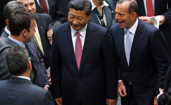 A New Free Trade Agreement Between China and Australia Allows China to Gradually Buy all of Tasmania